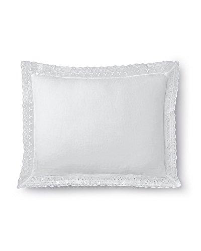 """UPC 886087209228, 15"""" x 20"""" White Pillow with Eyelet Flange, WHITE, Size: 15X20"""