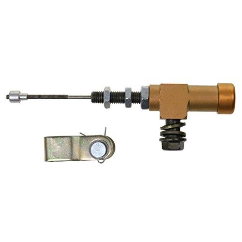 MagiDeal Motorcycle Hydraulic Clutch Master Cylinder Rod Brake Pump M10x1.25mm - Gold: