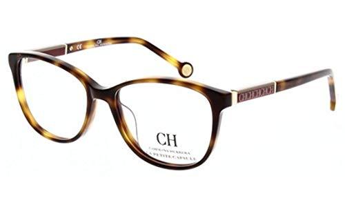 - Eyeglasses Carolina Herrera VHE 734 L 752Y Tortoise/Clear Lens