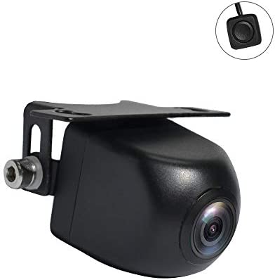 PARKVISION Super Wide Angle Multiview Smart Backup Front Camera with True 180 Horizontal Angle,Wide View Split View Top View Modes Switchable by One-Key Button,Good for Cars,RVs,Pickups,Mini Truck
