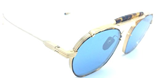 Jacques Marie Mage VICTORIO HAVANA Gold - Jacques Marie Mage Sunglasses
