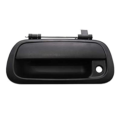 Aftermarket Rear Tailgate Textured Black Door Handle 69090-0C010 For Toyota Tundra Truck 00 - 06: Automotive