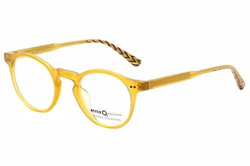 Etnia Barcelona Vintage Eyeglasses MissionDistrict Yellow/Brn ...