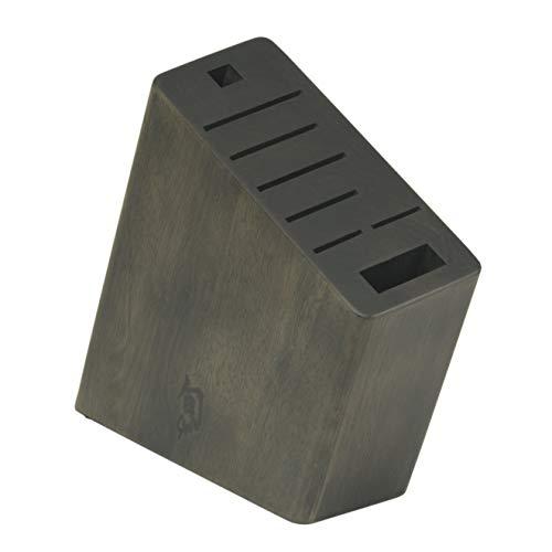 Shun Angled Knife Block, Brown, DM0839