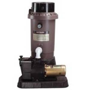 Hayward EC65 Extended Cycle DE In Ground Pool Filter System with 1 HP Pump - Perflex Filter System