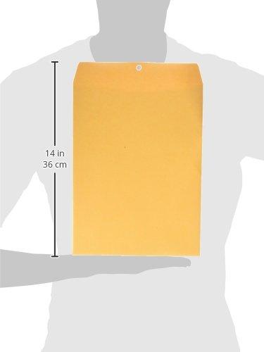 Columbian Clasp Envelopes, 9 x 12 Inches, Brown Kraft, 100 Per Box (CO790)