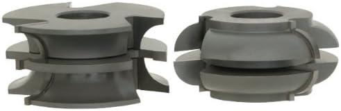 1-1//4-Inch Bore Roman Carbide DC2187 Stile and Rail Exterior Door Set Quarter Round