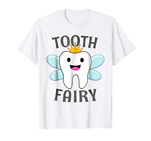 Tooth Fairy Halloween Costume T Shirt for Adults and Kids -