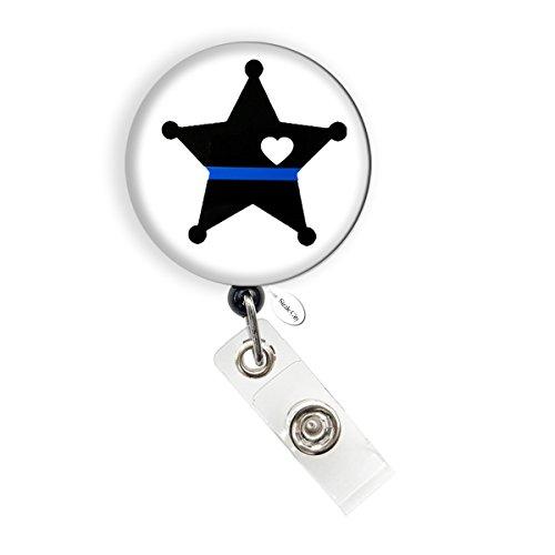 Star Retractable Badge Holder - 2