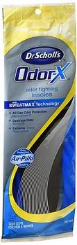 Dr。Scholl 's Odor Odor Fighting Insolesユニセックス – 1ペア、2パック B07BH3V9C1