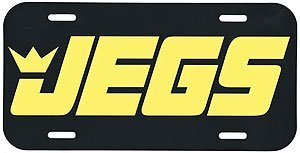 JEGS Apparel and Collectibles 005600 JEGS License Plate