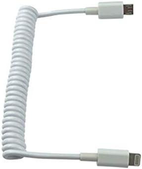 TwoCC Piezas De Drones,Control Remoto Conexión De Soporte Plano Cable De Adaptador Retráctil Cable De Datos Type C Línea De Datos Conexión Resorte De Tablet Pc Para Hubson Zino H117S Rc
