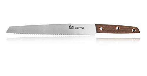 Cangshan W Series 60102 German Steel Bread Knife, 10.25'', Silver by Cangshan (Image #1)