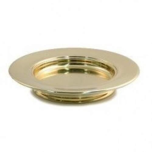 Communion-Brass tone-Communion Bread Plate-Stack-10