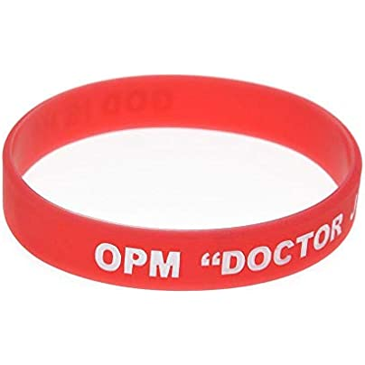 Sxuefang Silicone Wristbands With Sayings rsquo Opm Doctor Jesus lsquo Rubber Bracelets For Christian Men And Kids Set Pieces Estimated Price £29.99 -