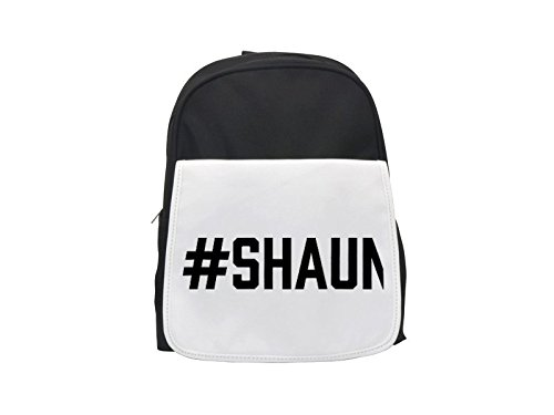 #SHAUN printed kid's backpack, Cute backpacks, cute small backpacks, cute black backpack, cool black backpack, fashion backpacks, large fashion backpacks, black fashion backpack