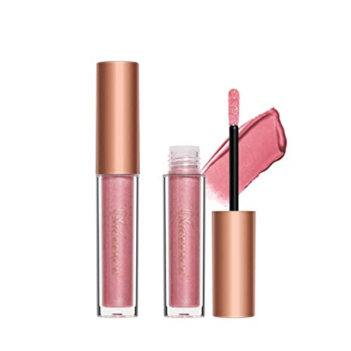 Eyes Glitter Shimmer Liquid Eyeshadow, NICEFACE Longwearing Lasting Eyeshadow Gift Set (10 Colors)