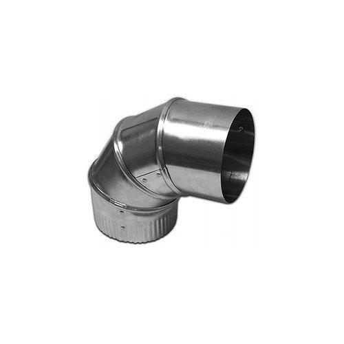 3inch Galvanized Adjustable Elbow - 30 Gauge (22.5 Degree to 90 Degree)