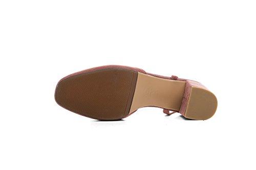 Sandales Compensées Femme ASL05286 Rose BalaMasa 15wpqRRx
