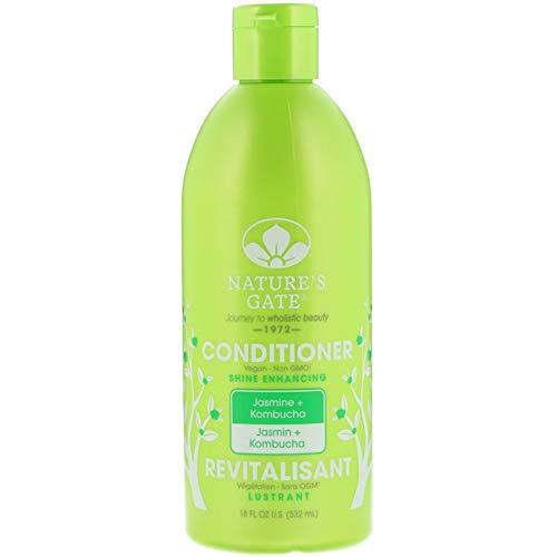 Nature's Gate Jasmine + Kombucha Shine Enhancing Conditioner, 18 Fluid Ounce