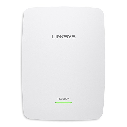 Linksys RE3000W N300 Wi-Fi Range Extender - (Renewed) (Best Way To Extend Wifi)