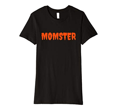 Womens Funny Mothers Halloween Costume T-shirt Parent Ma Mom -