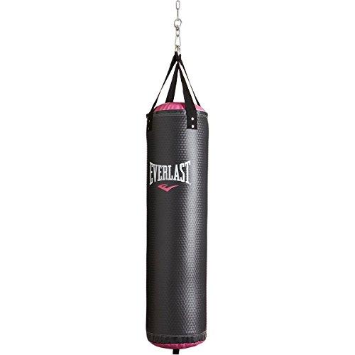 Heavy Bag, 40-Pound, Black/Pink (40lb Heavy Bag)