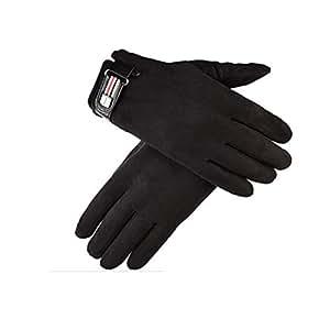Amazon.com : Qingduqijian Men's Gloves Winter Touch Screen