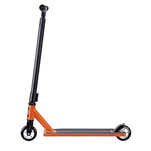 Sanview Freestyle Pro Stunt Scooter with Durable Frame and 100mm Wheels (Orange)