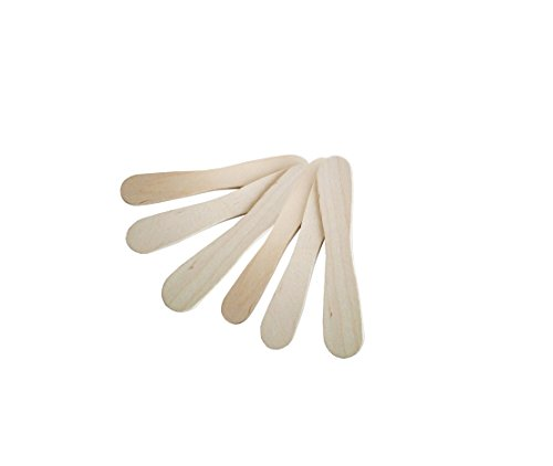 Tasting Table Assembly - Premium mini wooden spoons tasting,Enjoy eating ice scream 200 Piece