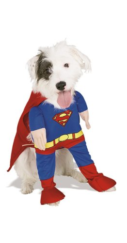 Deluxe Superman Medium Pet Costume