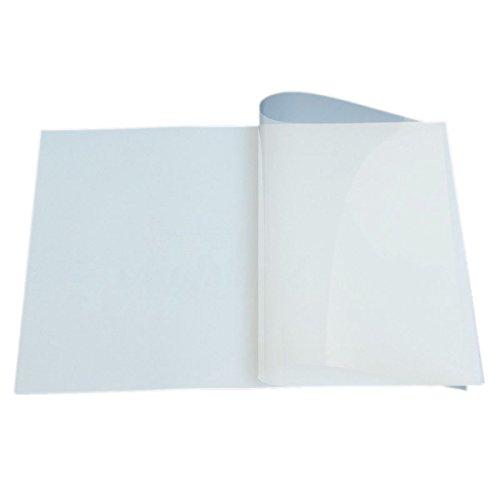 SODIAL 10pcs Sheet A3 Screen Printing Transparency Inkjet Film Paper Exposure Positive (Print Transparency Inkjet)