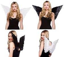 Saxon Costume (Claire's Accessories Feather Costume Wings WHITE)