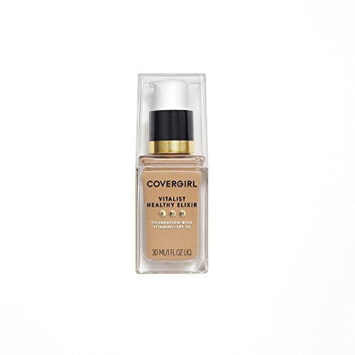COVERGIRL Vitalist Healthy Elixir Foundation, Warm Beige 745, 1 Ounce (packaging may vary)
