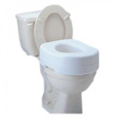 MCK30223500 - Apex-carex Raised Toilet Seat Carex Economy 5-1/2 Inch White 300 lbs