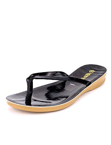 Cendriyon Chaussures Star Tong Femme Bello Noire Noir 4q4rB