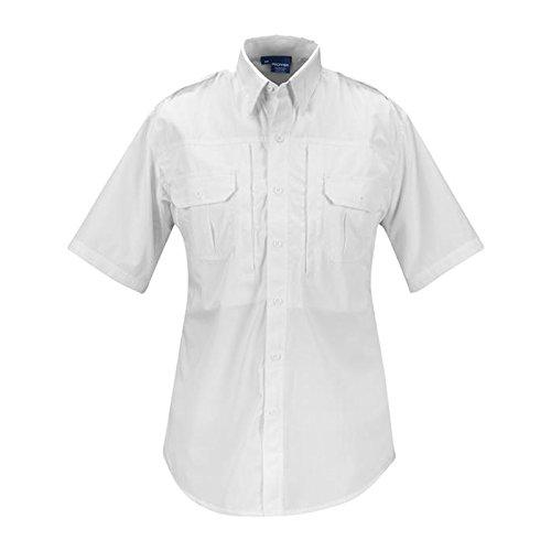 Propper Men's Tactical Shirt - Short Sleeve White M