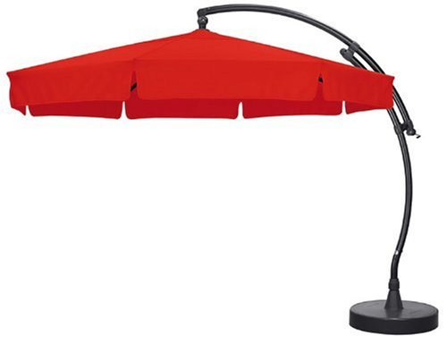 Sun Garden Ampelschirm Easy Sun Parasol 350 cm Ø Easy Sun, Gestell anthrazit