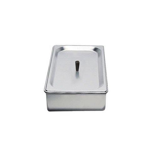 (BroilKing SPL-3P 1/3 Size 2.6 qt. Chafing Pan & Plastic Lid)