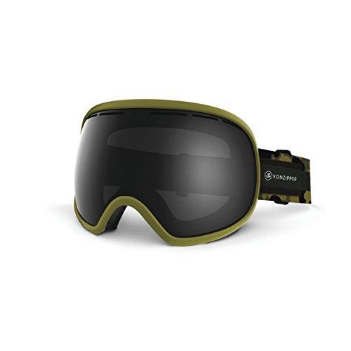 VonZipper Fishbowl Goggles Olive Camo Satin ()