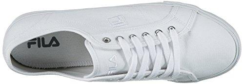 Fila White Herren Low Base Men Sneaker Weiß Millen UpqUH