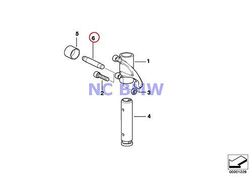 2 X BMW Genuine Rocker Arm/Shaft/Valve Lifter Valve Pushrod D=10 R1100GS R1100R R850 R1100RS R1100S R1100RT R1200C R1200 Montauk R1200C Independent R1200GS R1200GS Adventure HP2 Enduro HP2 Megamoto R1 Bmw New Rocker Arm
