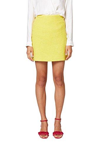 ESPRIT Collection Jupe Femme Jaune (Yellow 750)