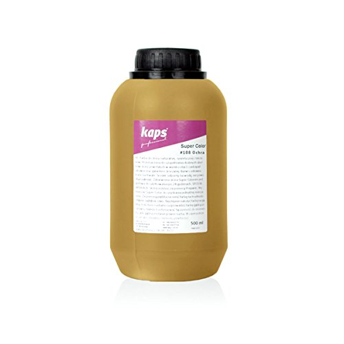 Super Colorazioni Per Sintetica Varie Tessili Pelle Ocra Kaps Tintura 500 Color Naturale E Ml 108 f4qTa