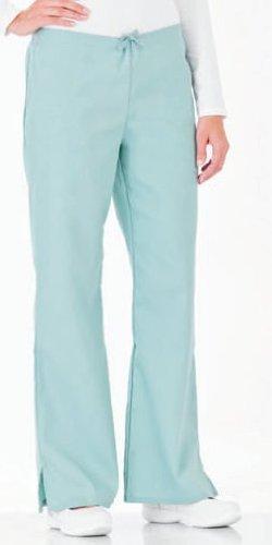 Fundamentals by White Swan Women's Drawstring Flare Leg Scrub Pants XX-Large White ()