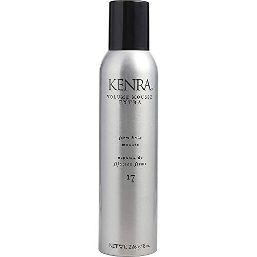 KENRA by Kenra VOLUME MOUSSE EXTRA 17 FIRM HOLD FIXATIVE 8 OZ for UNISEX (Package of 3 ) (Kenra Volume Mousse)
