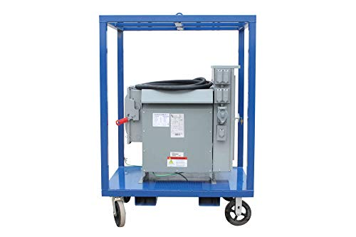 - 45KVA Temporary Power Substation - 480V 3P to 208Y/120 3P - (8) L5-30R GFCI Outlets