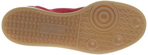 Adidas Originali Mens Samba Mc Lifestyle Sneaker Da Calcio Stile Scarlet / Bianco / Oro