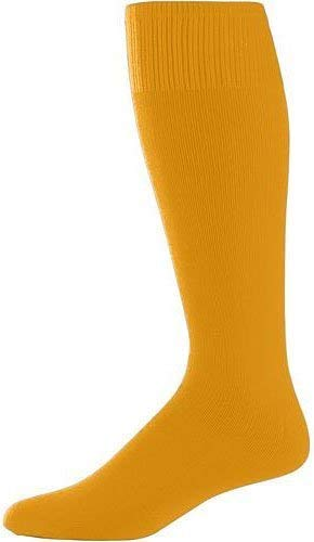Augusta Sportswear Youth Game Socks OS Gold - Socks Boys Gold