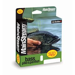 RIO Fly Fishing Fly Line Mainstream Bass/Pike/Pinfish Wf10F Fishing Line, Yellow